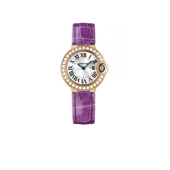 Cartier Ballon Bleu Ladies Gold Watch WE900251