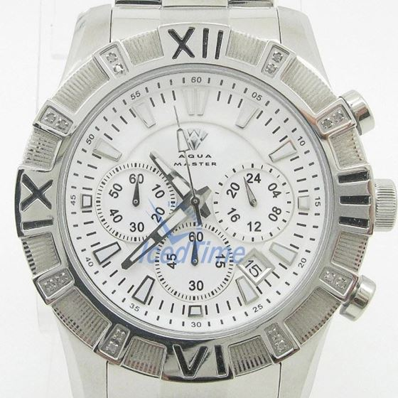 Mens Aqua Master Iced Out Diamond Watch W333AQ2 1