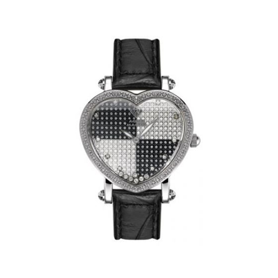 Aqua Master Diamond Watch Aqua Master Ladies Floating Diamond Heart Watches 63-2W