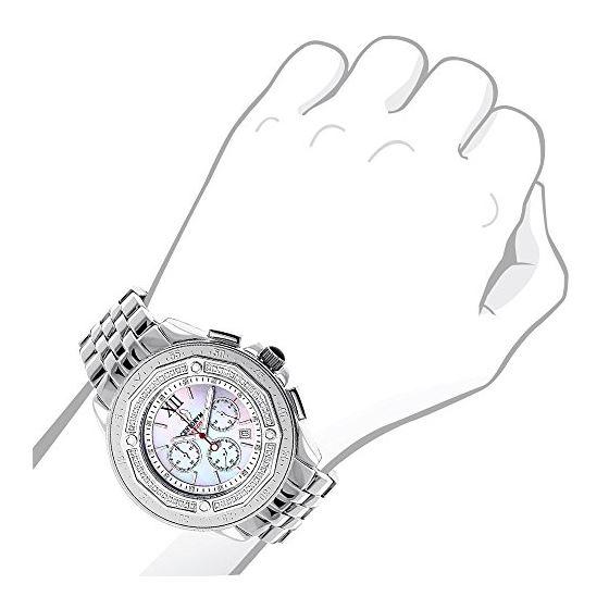 Centorum Real Diamond Watches: Mens Mids 89657 3