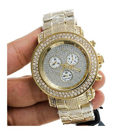 Iced Out Watches Junior Diamond Watch 19.25-3
