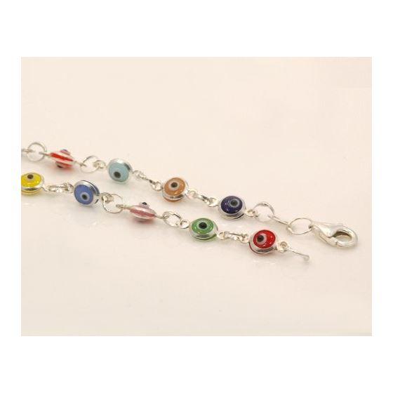 Evil Eye Murano Glass Bead Designer Ster 73098 3