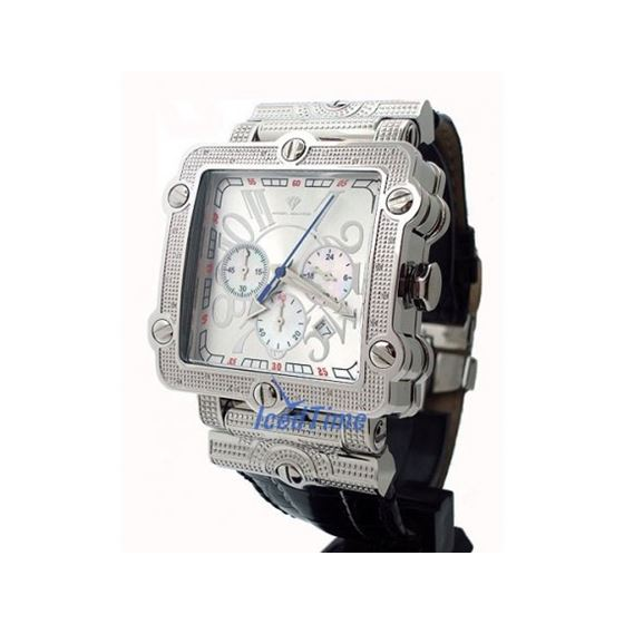 Aqua Master Unisex Diamond Watch 0.20ct W154