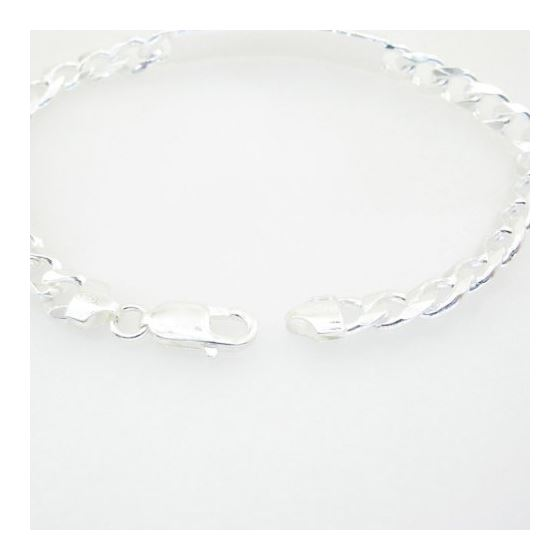 Curb Link ID Bracelet Necklace Length - 8.5 inches Width - 7.5mm 3