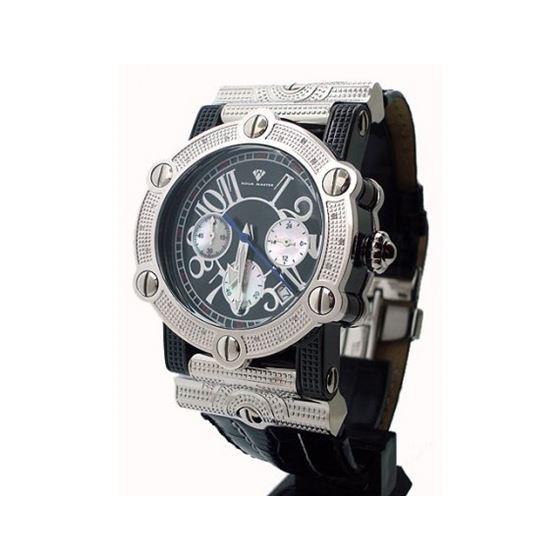 Aqua Master Unisex Diamond Watch 0.18ct W #145
