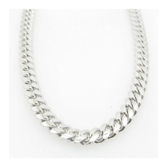 Mens .925 Italian Sterling Silver Cuban Link Chain Length - 30 inches Width - 6mm 3