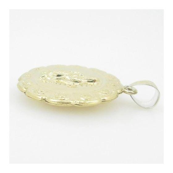 Unisex 10K gold and .925 Italian Sterlin 81083 3