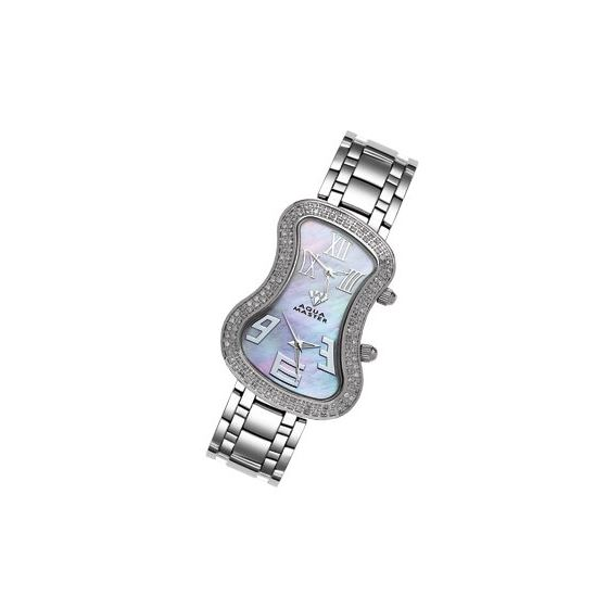 Men's Or Women's Dual Time Zone Diamond Wa