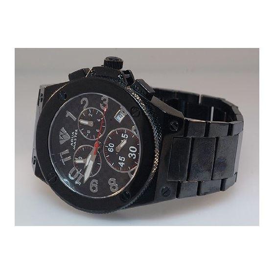 Men's Black Swiss Made Watch-3