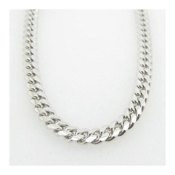 Mens .925 Italian Sterling Silver Cuban Link Chain Length - 34 inches Width - 5mm 3