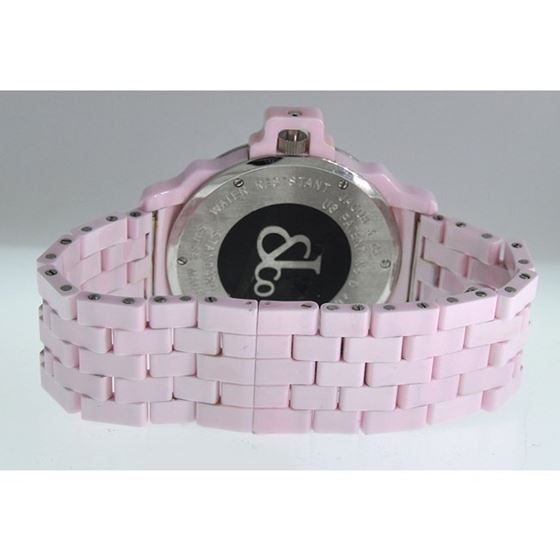 Jacob Co Ceramic Womens Diamond Watch JC 54244 3