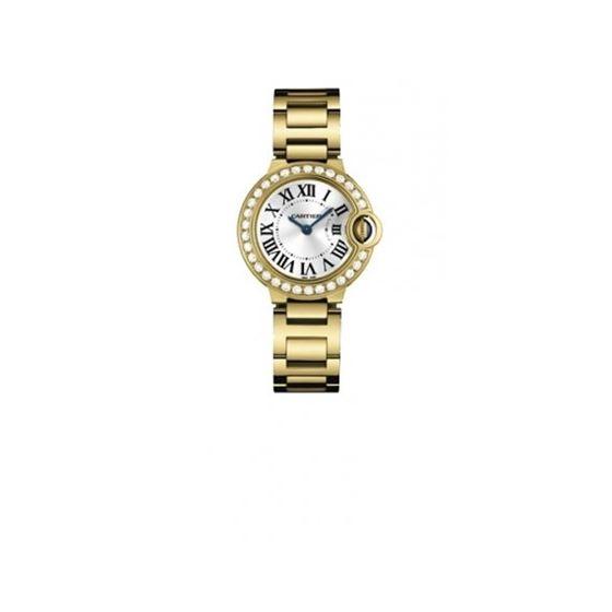 Cartier Ballon Bleu Polished 18K Yellow Gold Ladies Watch WE9001Z3