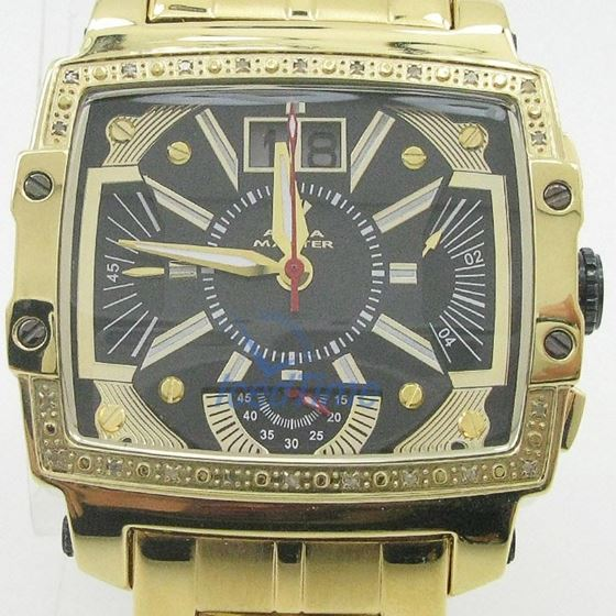 Mens Aqua Master Iced Out Diamond Watch W329AQ5 1