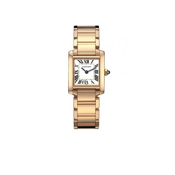 Cartier Tank Francaise 18kt Rose Gold Ladies Watch W500264H