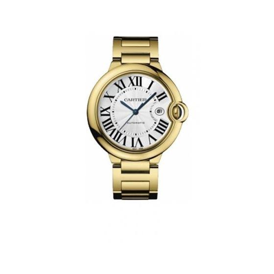 Cartier Ballon Bleu Mens Yellow Gold Watch W69005Z2