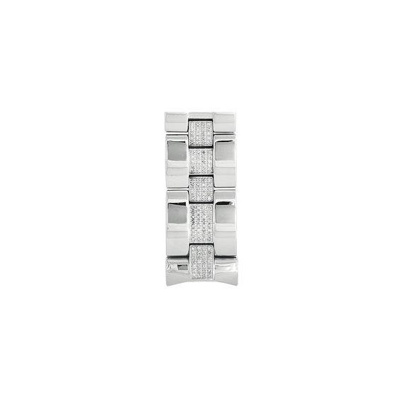 Center-Diamond Bracelet For # 101 Or # 104 Watch,