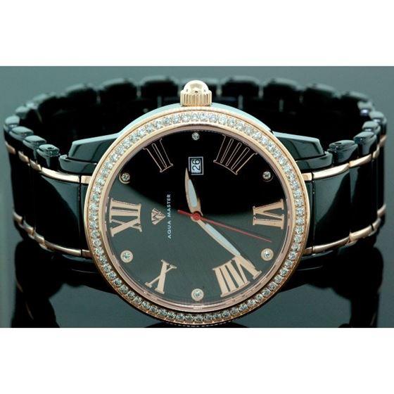 Aqua Master Mens Classic Diamond Watch W 55801 1