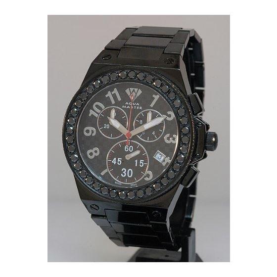 Black Diamond Men's Diamond Watch