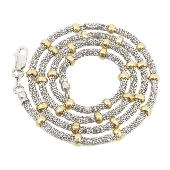 925 Sterling Silver Italian Chain 18 inches long and 4mm wide GSC52 1