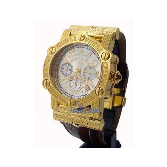 Aqua Master Unisex Diamond Watch 0.18ct W152