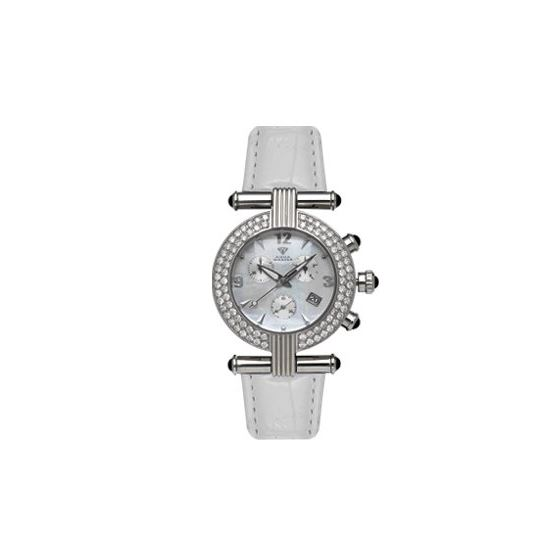 Ladies' Two-Row Big Diamond Watch, 2.80 Ctw-