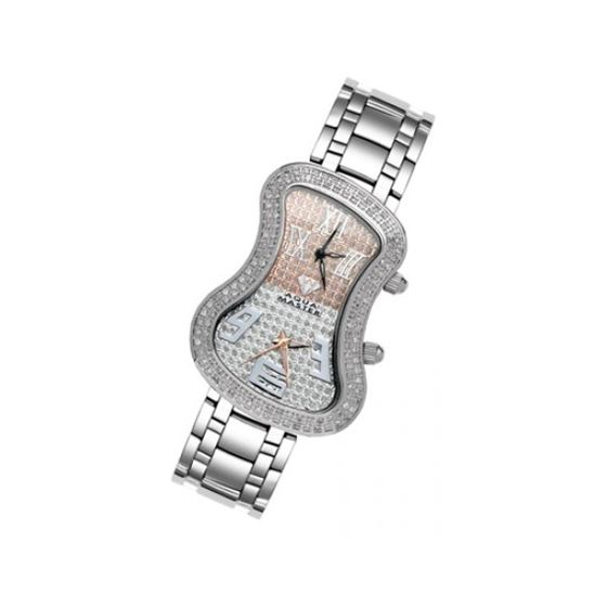 Aqua Master Diamond Watch The AquaMaster Two-Time Zone Ladies Watches 42-5W