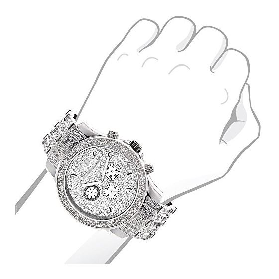 Iced Outlarge Mens Genuine Diamond Rapto 89921 3