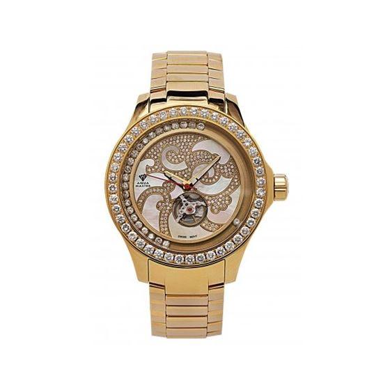 Aqua Master Luxury 7.50 ct Diamond Mens Watch w211-19-1