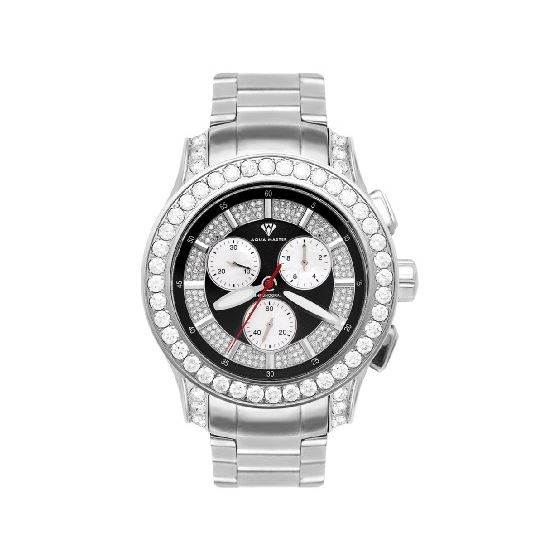 NEW! Men's Masterpiece Diamond Watch, 8.00 Ctw
