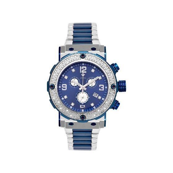 NEW! Men's Two-Tone 20-Diamond Watch