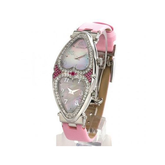Jacob  Co Heart Diamond Watch JCH01