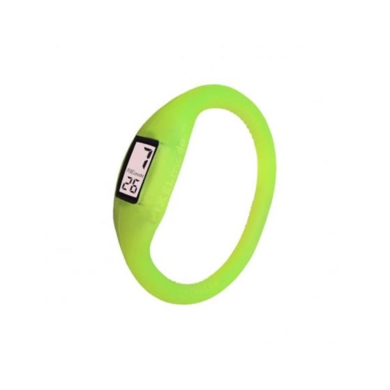 Pixel Moda Ultra Light Digital Unisex Watch Lucent Yellow
