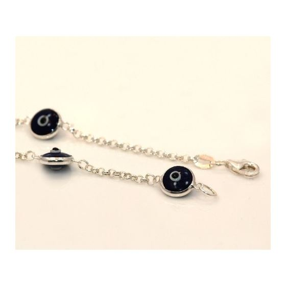 Evil Eye Murano Glass Bead Designer Ster 73104 3