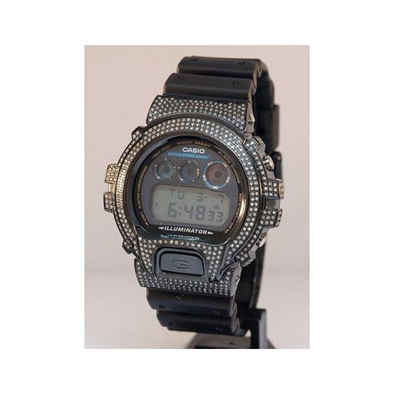 Mens G Shock Diamond Watch 5.25ctw