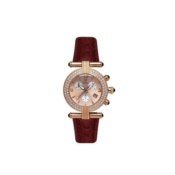 Ladies' Two-Row Big Diamond Watch, 2.80 Ctw-