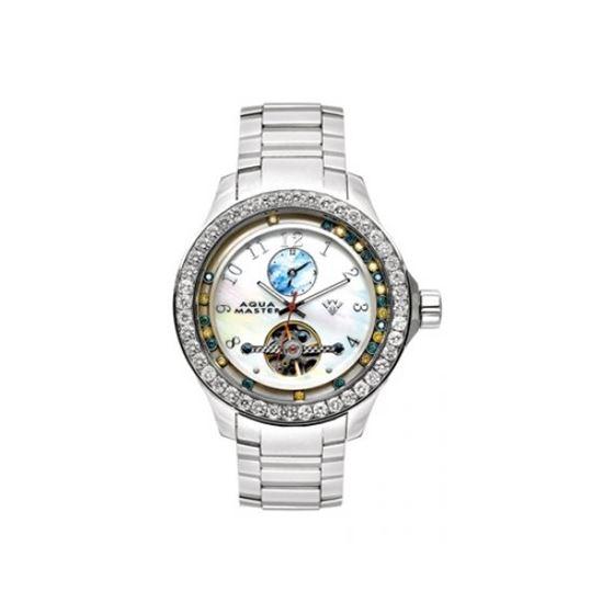 Aqua Master Diamond Watch The AquaMaster Tour Billion Watches Stainless Steels with Diamonds 3-4W