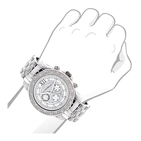 Diamond Watch 0.25Ct Mens Raptor-3