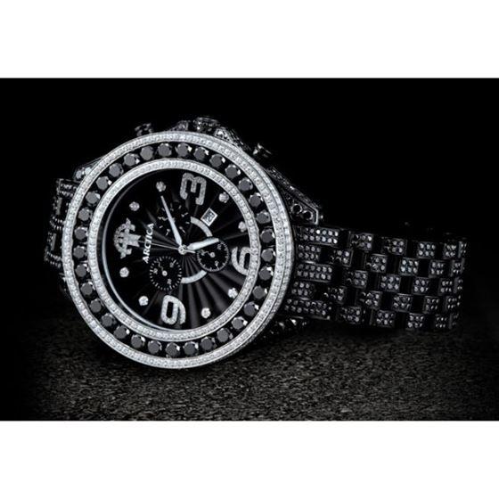 Arctica Watches Arctica 57mm Diamond Case 36.80ct