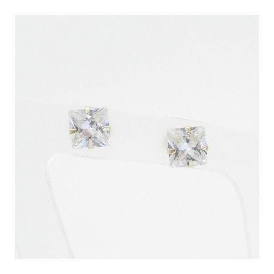 Unisex 14K solid gold earrings fancy stud hoop huggie ball fashion dangle swag