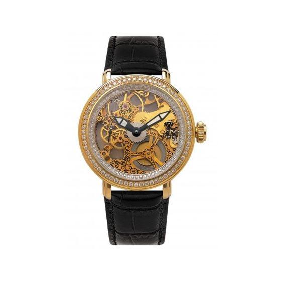 Aqua Master Mechanical Skeleton Diamond Watch 203-3