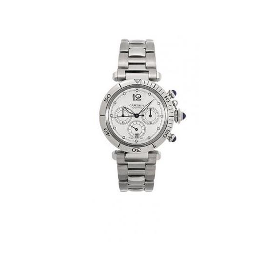 Cartier Pasha Chronograph Automatic Mens Watch W31030H3
