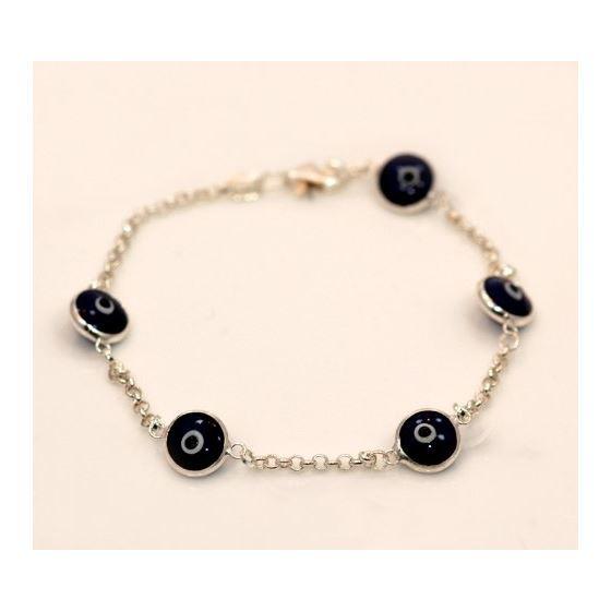 Evil Eye Murano Glass Bead Designer Ster 73102 1