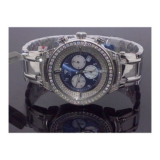 Mens 4.25Ctw Diamond Watch - W97B