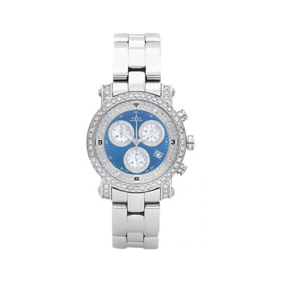 Aqua Master Mens Signature Diamond Watch 54255 1
