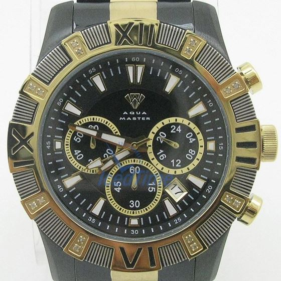 Mens Aqua Master Iced Out Diamond Watch W333AQ3 1
