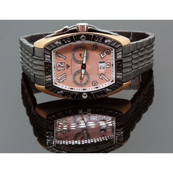 Aqua Master Tonneau 0.50ctw Mens Diamond Watch W315-9