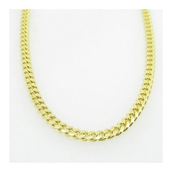 Mens .925 Italian Sterling Silver Cuban Link Chain Length - 36 inches Width - 3mm 3