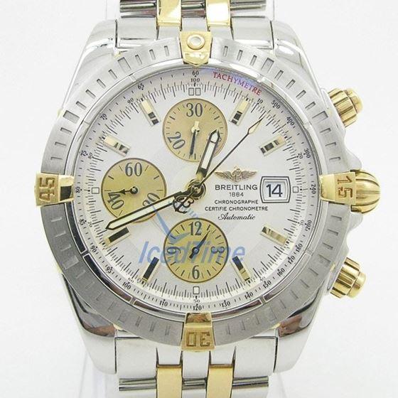 Breitling Chronomat Evolution Silver Dia 55347 1