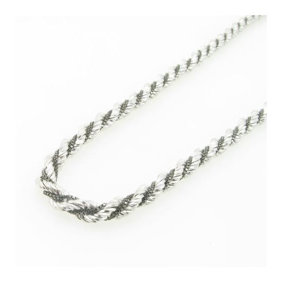 925 Sterling Silver Italian Chain 18 inches long and 5mm wide GSC86 3