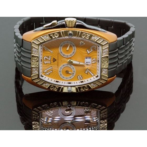Aqua Master Tonneau 0.50ctw Mens Diamond 54941 1